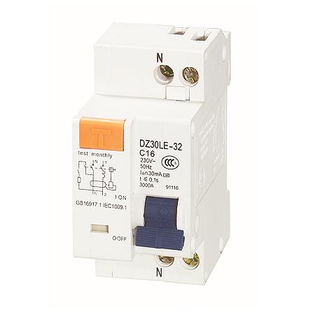 DZ30LE系列漏電保護斷路器